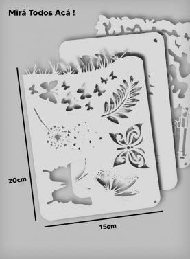 Stencils 20 cm x 15 cm