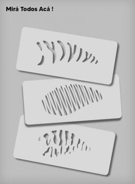 Stencils de Señuelos de Pesca