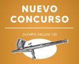 NUEVO CONCURSO OCTUBRE Y NOVIEMBRE: AEROGRAFO OLYMPO DELUXE 130